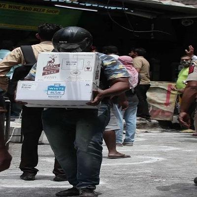 Home delivery liquor Delhi